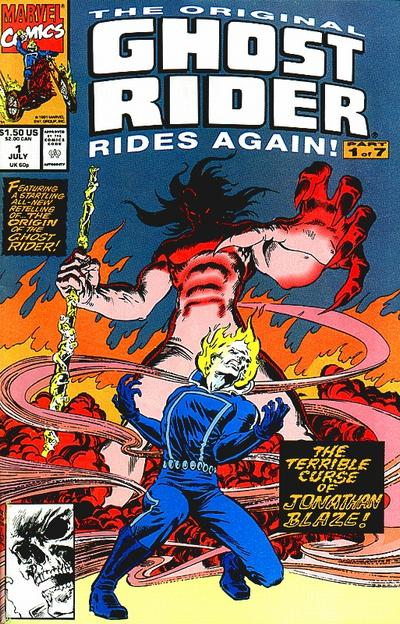 THE ORIGINAL GHOST RIDER RIDES AGAIN #1