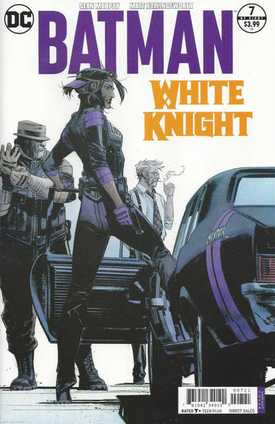 BATMAN WHITE KNIGHT #07 SEAN MURPHY MONTOYA VARIANT