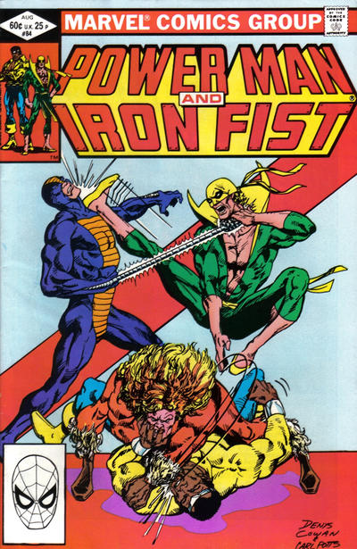 POWER MAN AND IRON FIST #84 (Fourth appearance of Sabretooth)