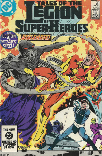 TALES OF THE LEGION OF SUPER HEROES #315 (NEWSSTAND)