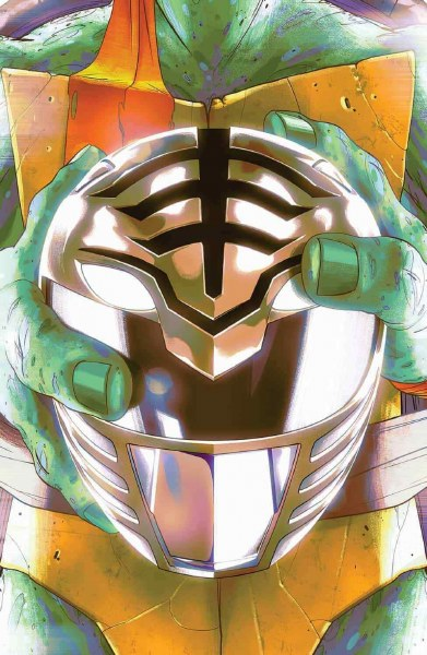 POWER RANGERS TEENAGE MUTANT NINJA TURTLES #4 THANK YOU VARIANT