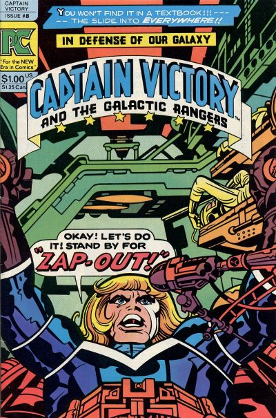 CAPTAIN VICTORY AND THE GALACTIC RANGERS #08
