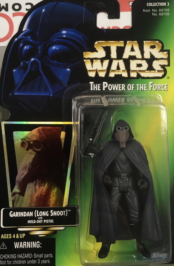 STAR WARS FIGURE / GARINDAN (LONG SNOOT)