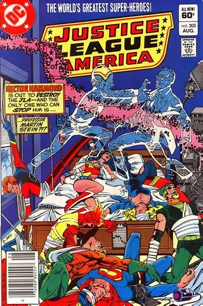 JUSTICE LEAGUE OF AMERICA #205 (NEWSSTAND)