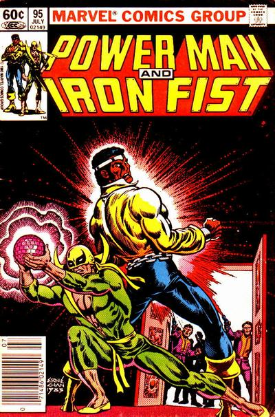 POWER MAN AND IRON FIST #95 (NEWSSTAND)
