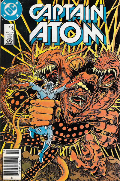 CAPTAIN ATOM #06 (NEWSSTAND)