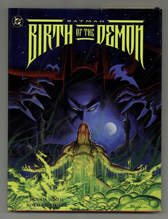 BATMAN BIRTH OF THE DEMON HC