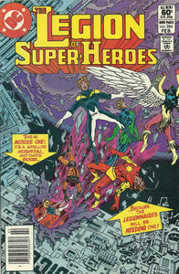 LEGION OF SUPER HEROES #284 (NEWSSTAND)