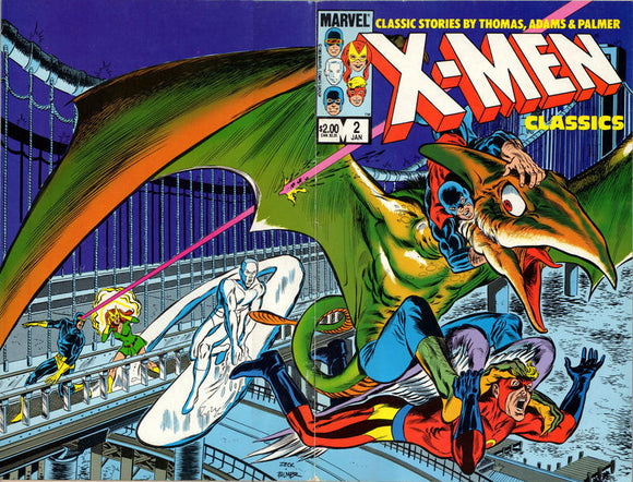 X MEN CLASSICS STARRING THE X MEN #2