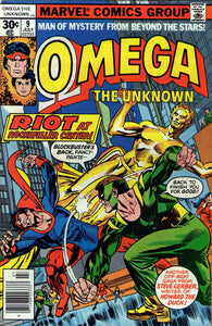 OMEGA THE UNKNOWN #9 (30 CENT)