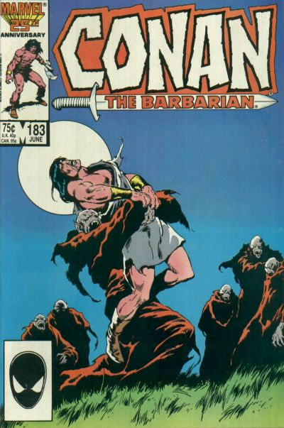 CONAN THE BARBARIAN #183 (NEWSSTAND)