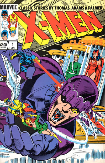 X MEN CLASSICS STARRING THE X MEN #1