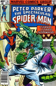SPECTACULAR SPIDER MAN #34 (NEWSSTAND)