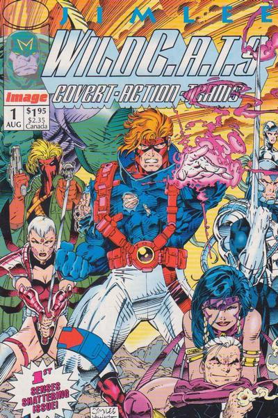 WILDC.A.T.S. COVERT ACTION TEAMS #01