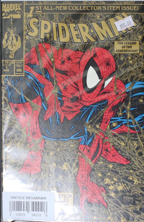 SPIDER MAN #01 (2ND PRINTING GOLD EDITION)