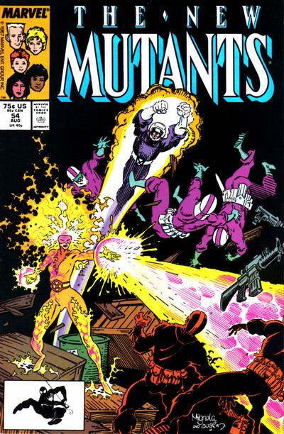 NEW MUTANTS #54 (DIRECT)