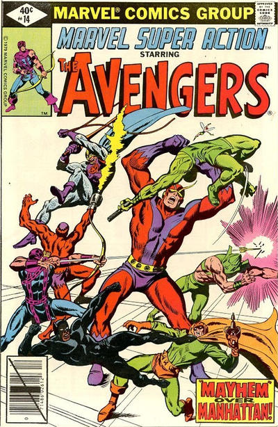 MARVEL SUPER ACTION #14 (NEWSSTAND)