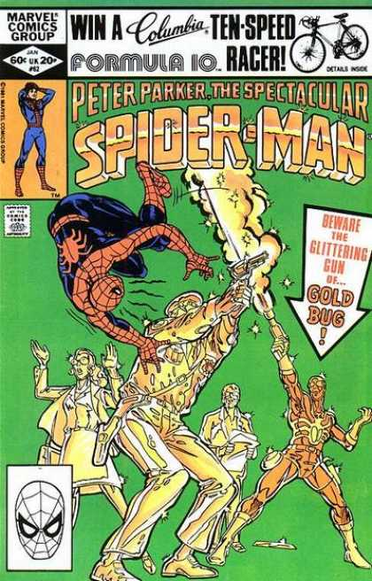 SPECTACULAR SPIDER MAN #62 (DIRECT)