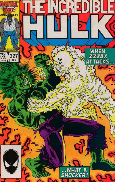 INCREDIBLE HULK #327