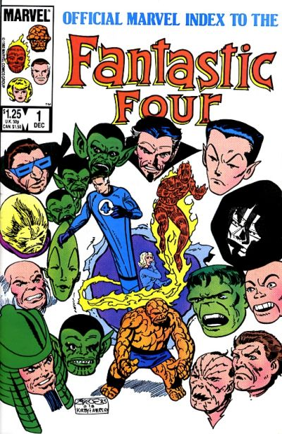 OFFICIAL MARVEL INDEX TO THE FANTASTIC FOUR #01
