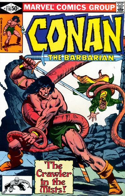 CONAN THE BARBARIAN #116 (NEWSSTAND)