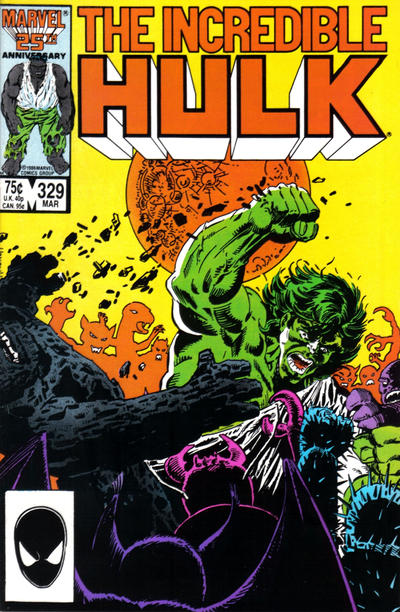 INCREDIBLE HULK 329 (DIRECT)