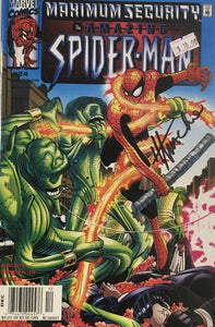 AMAZING SPIDER MAN 1999 #24 (SIGNED BY HOWARD MACKIE)