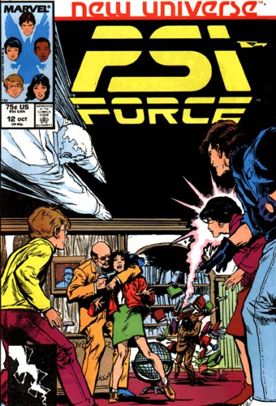PSI FORCE #12 (NEWSSTAND)