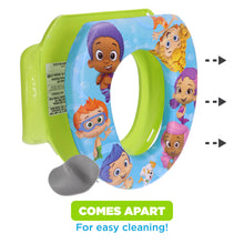 Load image into Gallery viewer, Nickelodeon Bubble Guppies Soft Potty Seat (MADE IN USA)