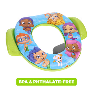 Nickelodeon Bubble Guppies Soft Potty Seat (MADE IN USA)