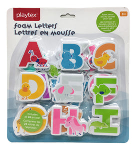 Playtex Foam Bath Letters