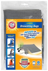 Arm & Hammer Three Pack Shoe Bags