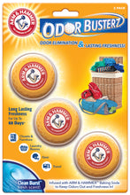 Load image into Gallery viewer, Arm & Hammer 3-Pack Deodorizer Odor Busterz™