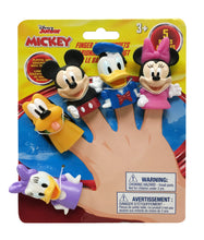 Load image into Gallery viewer, Disney Mickey & Friends Finger Puppets