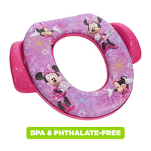 Load image into Gallery viewer, Disney Minnie Mouse Soft Potty Seat Bow-tique (MADE IN USA)