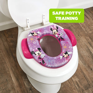 Disney Minnie Mouse Soft Potty Seat Bow-tique (MADE IN USA)