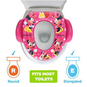 Disney Minnie Mouse Soft Potty Seat Mad About Minnie (MADE IN USA)