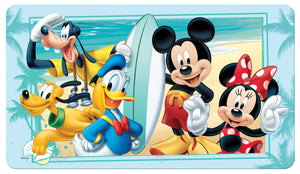"Disney Mickey Mouse ""Summer Fun"" TPR Bath Mat"
