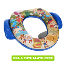 Load image into Gallery viewer, Disney Jake & the Neverland Pirates Soft Potty Seat (MADE IN USA) Treasure Awaits