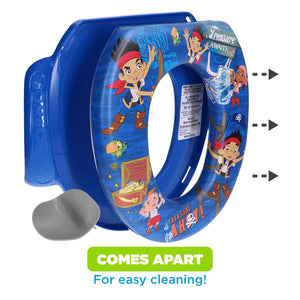 Disney Jake & the Neverland Pirates Soft Potty Seat (MADE IN USA) Treasure Ahoy