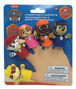 Nickelodeon Paw Patrol Dream Team Finger Puppets