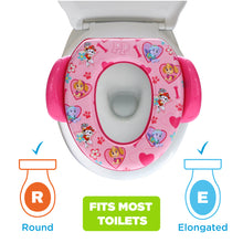 Load image into Gallery viewer, Nickelodeon Paw Patrol Skye & Everest Soft Potty Seat (MADE IN USA)