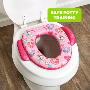 Nickelodeon Paw Patrol Skye & Everest Soft Potty Seat (MADE IN USA)