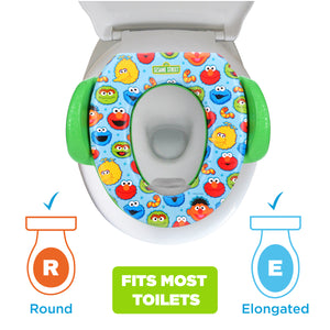Sesame Elmo Best Friends Soft Potty Seat (MADE IN USA)