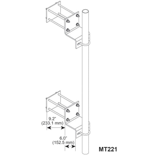 CommScope Adjustable Wall Mounts