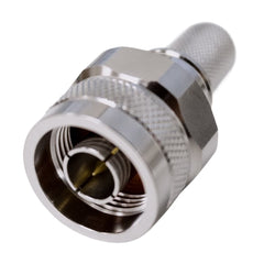 N-Type Male RSRF Coax Cable Crimps for RSRF RS400 Cable
