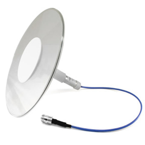 Pulse/Larsen Clarity Ultra-Thin Clear Ceiling Mount Omni Antenna