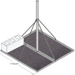 Rohn Anti-Skid Mat for FRM Mounts (FRMMAT)