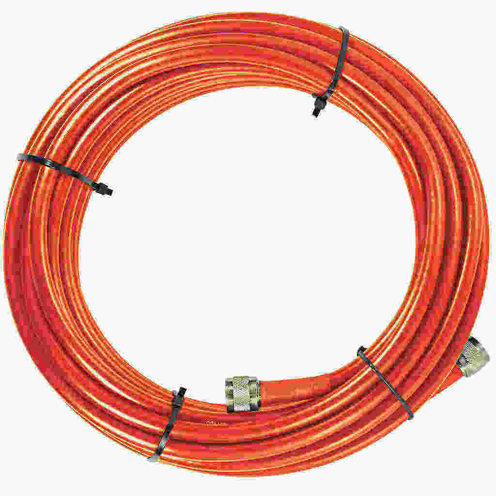 Black SureCall SC-400 Ultra Low-Loss Coax Cable with N-Male Connectors 20