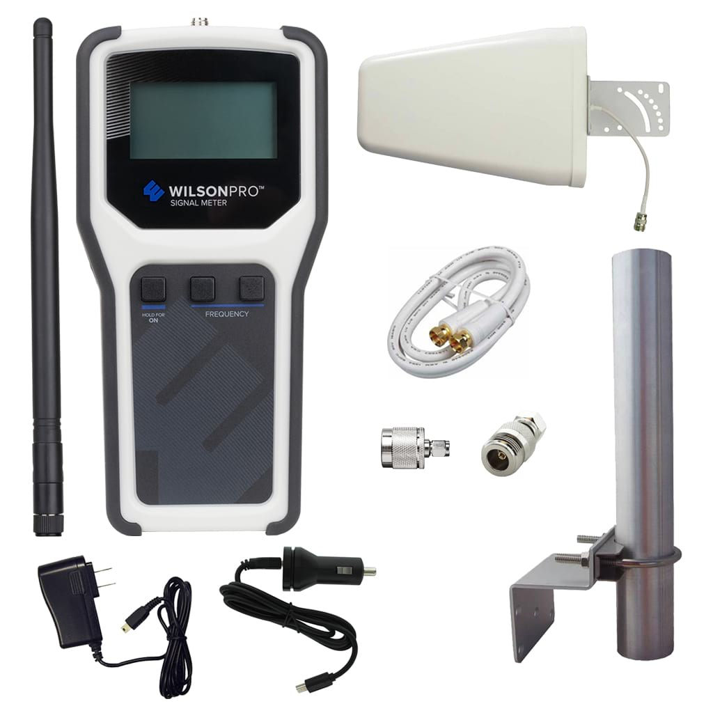 Directional Frequency Counter : Wilsonpro rf signal meter kits repeaterstore